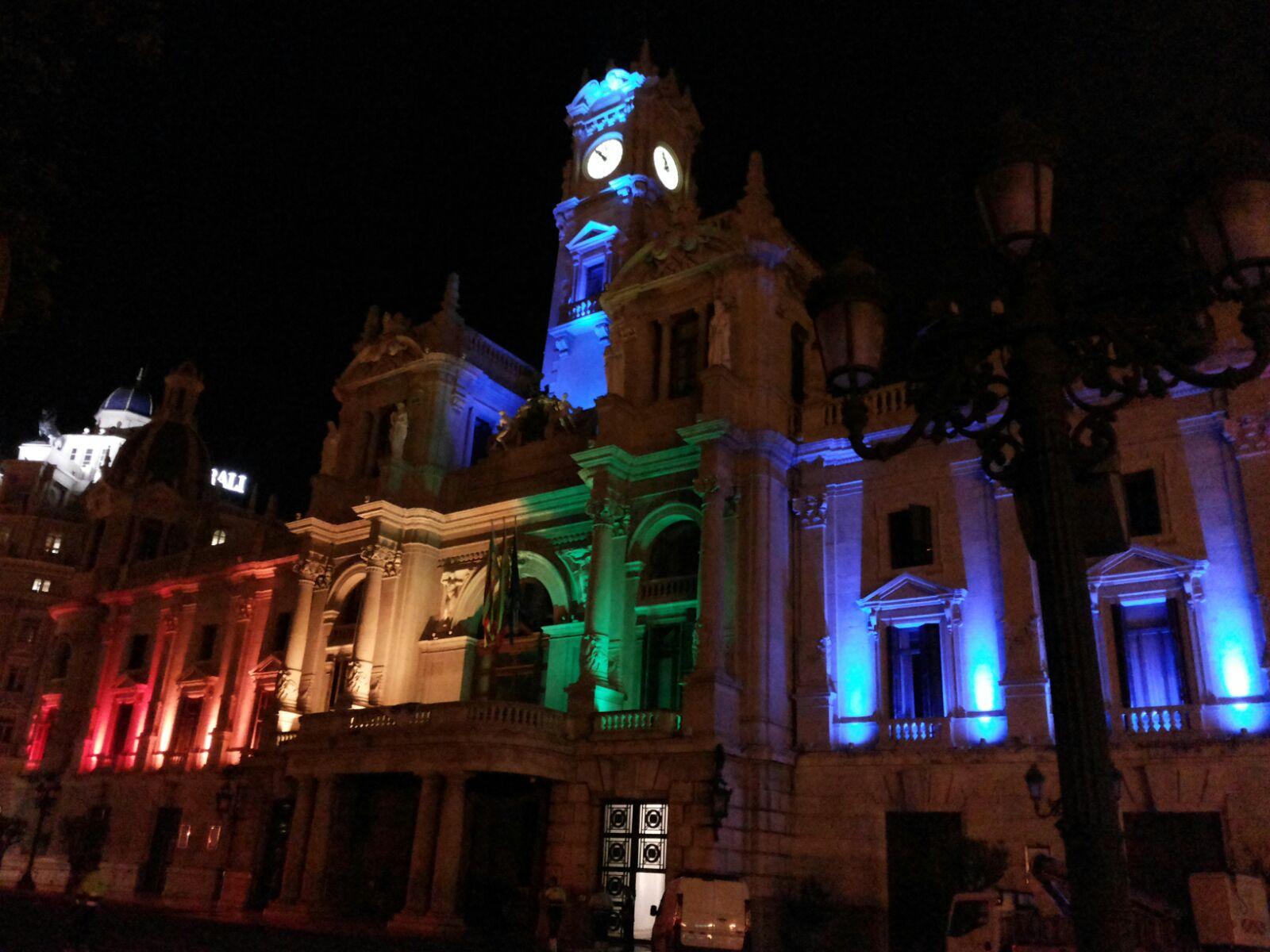 Fachada Ayuntamiento de Valencia