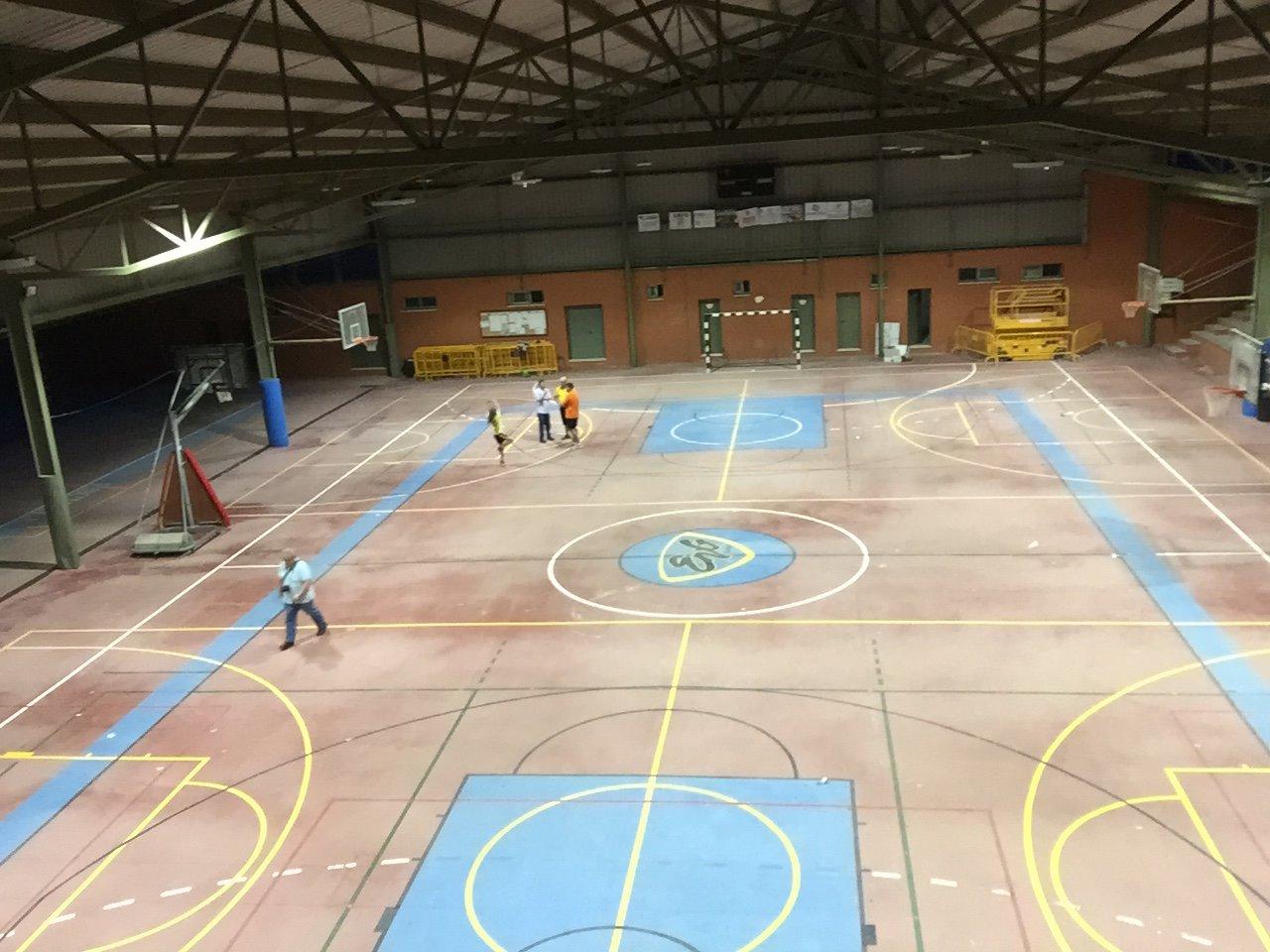 Pabellón polideportivo Escuela Virgen de Gudalupe, Badajoz