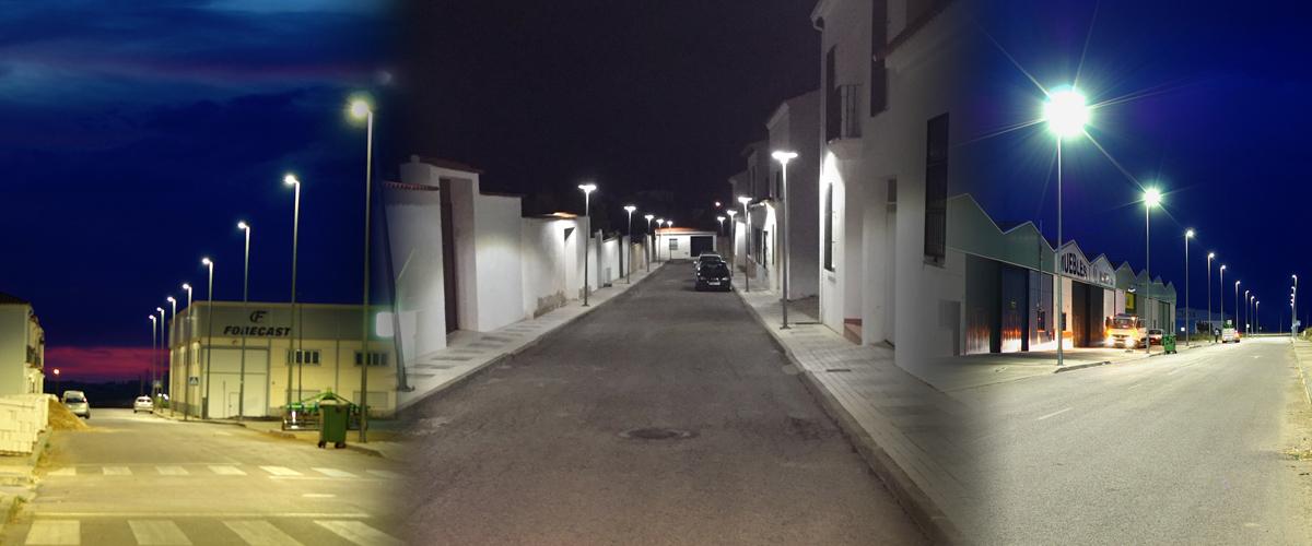 Alumbrado funcional Llerena (Badajoz)